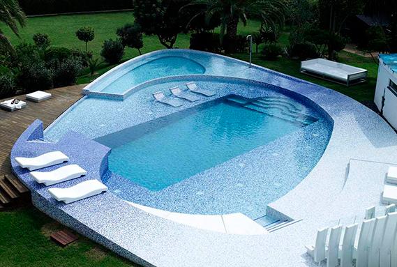 Revestimiento para piscinas serie: Marquis Magic | Premix Marbletite